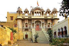 India, Mandawa: small palace Royalty Free Stock Photos