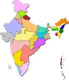India map Stock Photos