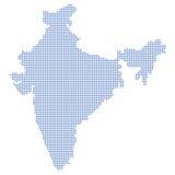 India map dots Stock Photos