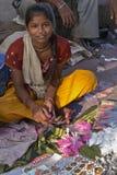 india marknadsgata arkivbilder