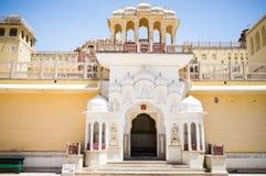 India miasta pałac Obrazy Royalty Free