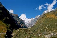 India, the mountains. Stock Photo