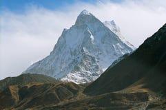 India, Mt. Shivling Stock Afbeeldingen