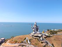 Temple complex in Murdeshwar royalty free stock images