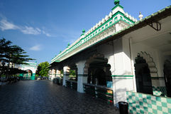 India Muslim Mosque in Ipoh, Malaysia Royalty Free Stock Photography