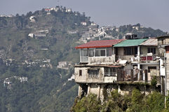 india mussoorie Royaltyfria Foton