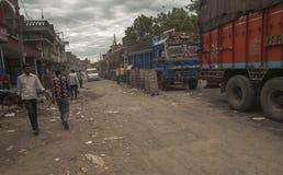 India, Nepal granica - Fotografia Royalty Free