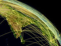 India network Stock Photography