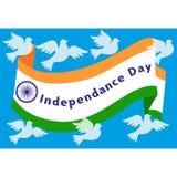 India niezależności pojęcie royalty ilustracja