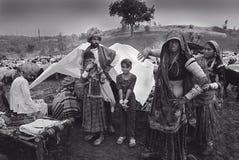 india nomadfolk Arkivfoto