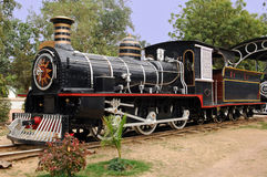 India : one of the oldest locomotive Stock Image