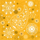 India ornament background Royalty Free Stock Image
