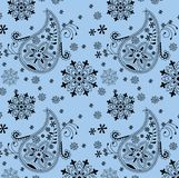 India ornament background. Paisley seamless Royalty Free Stock Photo