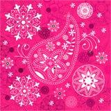 India ornament background. Paisley seamless Royalty Free Stock Photo