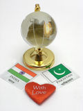 India & Pakistan Royalty Free Stock Photo