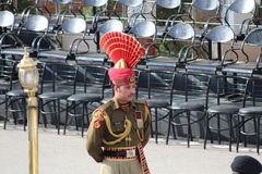 India-Pakistan Wagah Border royalty free stock photography