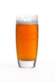 India Pale Ale. Cold pint of India Pale Ale in glass  on light background Stock Image