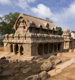 India - Panch Rathas - Mamallapuram Royalty Free Stock Photography