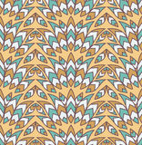 India pattern Stock Image