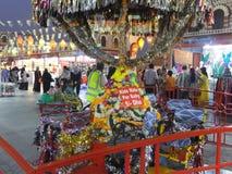 India pavilion at Global Village in Dubai, UAE Royalty Free Stock Photos