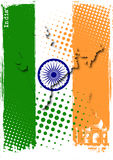 India poster royalty free illustration