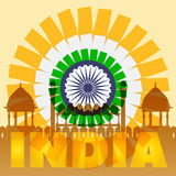 India Poster Concept. Vector EPS10. India Poster Concept. Vector EPS 10 Royalty Free Stock Photography