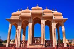 India. Rajasthan, Jaipur, Paleis van Winden Stock Fotografie