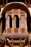 India, Rajasthan, Jaisalmer: Havali house Royalty Free Stock Photos