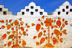 India, Rajasthan, Jaisalmer: walls Stock Photography