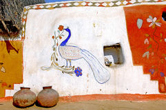 India, Rajasthan, Jaisalmer: walls Royalty Free Stock Photography