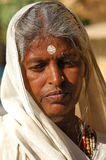 India, Rajasthan, Thar desert: Colourful woman Royalty Free Stock Image