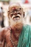 India, Rajasthan, Thar desert: Hindu priest Stock Images