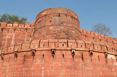 India, Red Fort in Agra Stock Photos