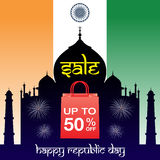 India republic day sale Stock Photos
