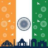 India republiki dzień Zdjęcie Stock