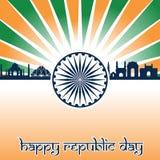 India republiki dzień royalty ilustracja