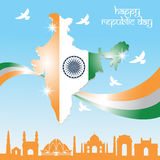 India republiki dzień Fotografia Stock