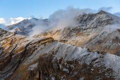 india ridge Royaltyfri Bild