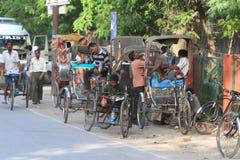 India Road Traffic Stock Photo