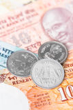 India rupee money Royalty Free Stock Photo