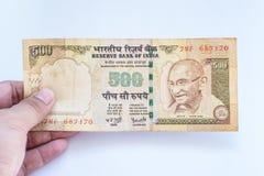 India rupii banknot Zdjęcie Royalty Free