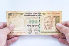 India rupii banknot Fotografia Stock