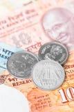India rupii pieniądze Zdjęcie Royalty Free