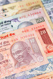 India rupii pieniądze banknot Fotografia Stock