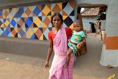India rural imagem de stock