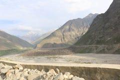India`s Deadliest, very treacherous and adventurous roads roads Stock Photo