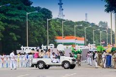 India ` s dnia niepodległości celebraion wiec Obraz Royalty Free