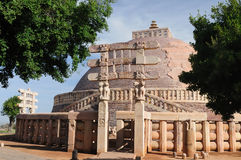 India - Sanchi royalty-vrije stock afbeelding