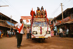 Indiańscy ludzcy bóg Obrazy Royalty Free