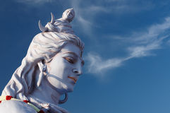 India, Shiva. The first Hindu God Shiva - photographed in Rishikesh, Uttaranchal, India royalty free stock photography